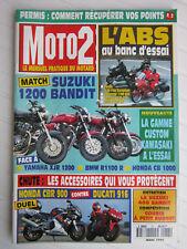 MOTO 2 N° 73 /SUZUKI BANDIT 1200-YAM'XJR 1200-BMW R1100 R-HONDA CBR 1000/DUCATI