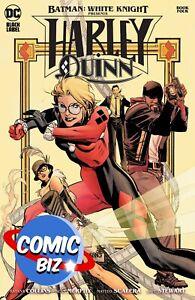 BATMAN WHITE KNIGHT PRESENTS HARLEY QUINN #4 (2021) 1ST PRINTING MAIN COVER
