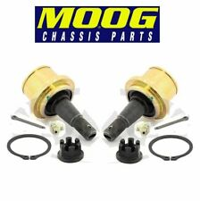 For Ford F150 Lincoln Pair Set of 2 Front Lower Press-in Ball Joints Moog
