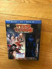 Teen Titans, The Judas Contract, Blu-Ray/DVD/Digital HD, with action figure