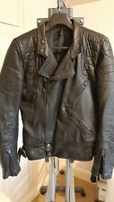 TT Leather Motorcycle Jacket Size 38-40 good condition 1 caring owner