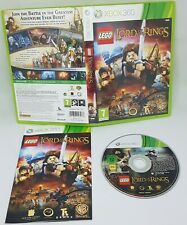 LEGO LORD OF THE RINGS  XBOX 360 GAME PAL COMPLETE WITH MANUAL