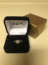 Kay's 1/10 Ct With Diamonds Sterling Silver Ring