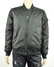 LRG Mens Cobra Down Black Full Zip Jacket M New