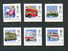 HONG KONG  594-99, 1991 TRANSPORTATION, MNH (HK002)