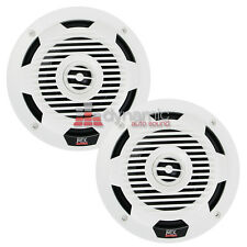 "MTX Audio WET65-W 6.5"" WET 2-Way Coaxial Marine Boat Speakers White 130W New"