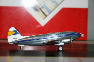Western Models/Aeroclassics 1:200 Lufthansa Curtiss C-46A Commando N9891Z