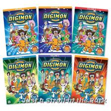 Digimon Adventure: Anime TV Series Complete Vols 1 2 3 4 5 6 Box/DVD Set(s) NEW!