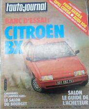 L'auto - journal N° 17 1982 Salon Salon du Bourget Caravane Ford Sierra Opel