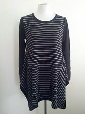 Timeless Black & White! Luca & Marc size S striped knit in excellent condition