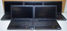 Lot of 5 Dell Latitude E6540 Intel Core i7-4810QM 2.80GHz 8/16GB RAM Laptops