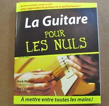 La guitare pour les nuls sans le CD /ZA30