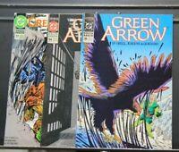 Green Arrow Lot of 3 - 30 ('90), 54 ('91), 77 ('93) - DC Comics