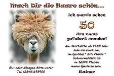 50 Lustige Tierische Einladungskarten Geburtstag Einladungen Haare Schön