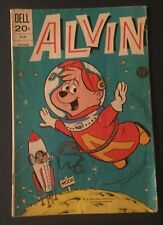 ALVIN AND THE CHIPMUNKS #26 1973 DELL COMIC G+/VG MOON ROCKET SPACE COVER
