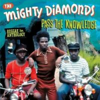 THE MIGHTY DIAMONDS - PASS THE KNOWLEDGE: REGGAE ANTHOLOGY 2 CD + DVD NEW