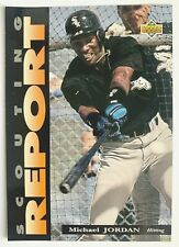 Michael Jordan 1994 Upper Deck Scouting Report #SR1 Jumbo Baseball Card