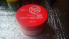 Red One Aqua Hair Wax and Gel full force Platinium 150ml 5 fl.oz. (red or blue)