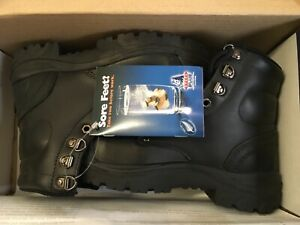 Steel Blue Argyle Bump Cap Mens Work Boot 332102 BLACK Size UK3