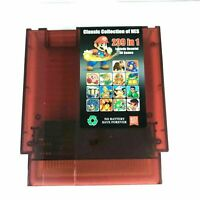 239 in 1 Nintendo NES Cartridge Multicart US SELLER Classic NES Collection games