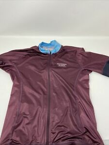 Pas Normal Studios Womens Cycling Jersey - Large - Merlot