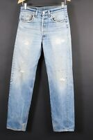 VTG 80s LEVI'S 501 XX Button Fly Denim Jeans USA Mens Size 32x36 Actual (30x32)