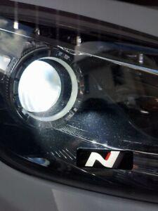 [6-Pack] Hyundai N Logo Emblem Sticker Performance i30N Veloster Kona Elantra