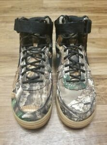 🔥🔥 Nike Air Force 1 High '07 LV8 3 Realtree Camo Sneakers AO2410 001 SIZE 10