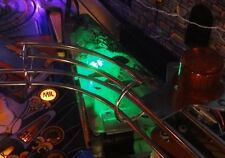 The Addams Family Pinball Swamp Area light mod GREEN