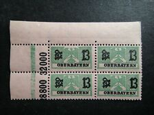 Germany Nazi 1914 - 1939 ? Stamp MNH Eagle Revenue Overprint oberbayern WWII Thi