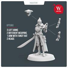 Rogue Skipper by Artel W - Rogue Trader Inquisitor Void Pirate