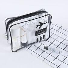 1 pcs TSA Toiletry Bag flight Make-up Clear Storage Bag sport Travel