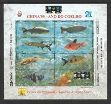 BRAZIL Sc 2722 NH MINISHEET of 1999 - SEA LIFE