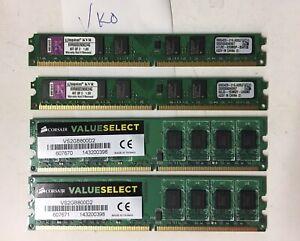 8G (2Gx4) DDR2 800Mhz Desktop PC2-6400 Ram Memory