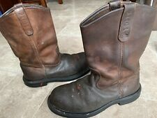 RED WING PECOS 2231 Leather Cowboy Work Boots Steel Toe Men's Size 9.5E USA Made