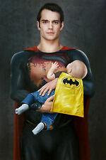 MASON STORM - BATMAN V SUPERMAN - Rare Street Art + Free Pure Evil Photo