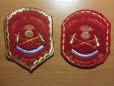 PATCH POLICE ARGENTINA - FIRE BOMBEROS  unit  -  ORIGINAL!  Lot 2 patches!