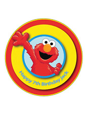 ELMO edible Cake Image Personalised Birthday Decoration Party Top