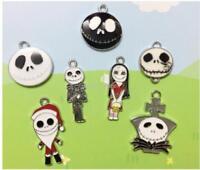20pcs Cartoon Enamel Metal Charms Pendants DIY Jewelry Making