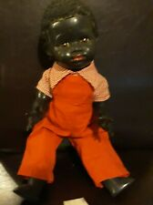 1950s PEDIGREE BLACK BOY DOLL 14 INCH