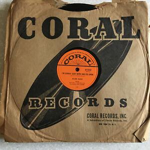 78 rpm Jukebox Record ALAN DALE Lisbon Antigua 1956' CORAL One Eye Open