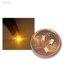 50 SMD LEDs 1206 amarillo, Amarillo SMDs LED SMT giallo geel jaune gul