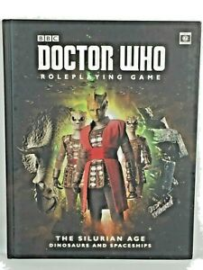 Doctor Who Roleplaying Game RPG The Silurian Age Dinosaurs and Spaceships Book
