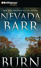 Anna Pigeon Ser.: Burn 16 by Nevada Barr (2011, CD, Abridged)