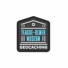 Teague-Ulmer Museum Patch Aufnäher GEocaching 2019 Stoff