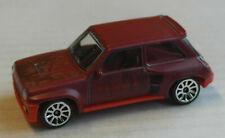 Majorette Vintage Rusty Renault 5 R5 Turbo weinrot rostig Auto Car Motorsport