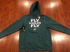 Nike Men's Philadelphia Eagles Sideline Local Lockup Hoodie Sweatshirt Large L