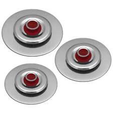 3 Coperchi Antiodore Cooker Ventur Magic in Acciaio Inox 26, 30, 34 Cm Rosso
