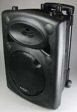 Ibiza PORT10VHF-BT Lautsprecher mobile Sound Beschallungsanlage PA Box USB Mikro