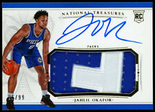 Jahlil Okafor 2015-16 National Treasures Rookie RC Auto Patch /99 PELICANS